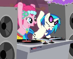 Pinkie Pie Dj Party