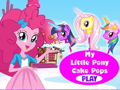 Pinkie Pie Pony Cake Pops