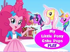 Pinkie Pie Pony Cake Pops