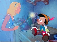 Pinocchio and Fairy Godmother Puzzle