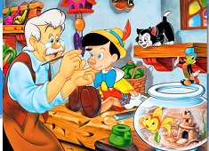 Pinocchio and Gepetto Puzzle