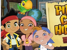 Pirate Crew Hide Out - Jake And The Neverland Pirates
