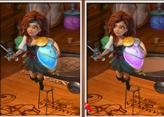 Pirate Fairy 6 Differences
