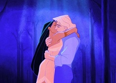 Pocahontas and John Smith Kissing Puzzle