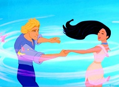 Pocahontas and John Smith Magical Puzzle