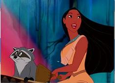 Pocahontas and Meeko Puzzle