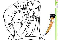 Pocahontas Coloring