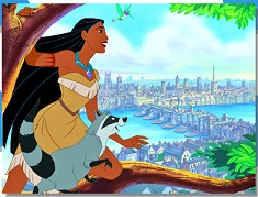 Pocahontas in the City Puzzle