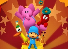 Pocoyo and Friends Circus