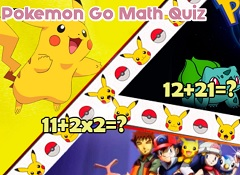 Pokemon Go Math Quiz
