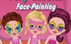Polly Hobbies Face Paintings