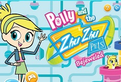 Polly and the Zhu Zhu Pets Bejewelled