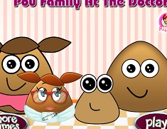 Pou Family at the Doctor