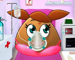 Pou Girl Ambulance