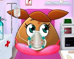 Pou Girl Ambulance
