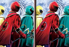 Power Rangers Spot the Difference