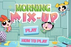 Powerpuff Girls Morning Mix Up