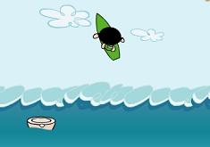 Powerpuff Girls Surfing