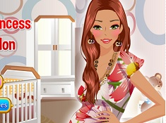Pregnant Princess Beauty Salon