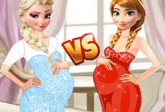 Pregnant Princesses Fashion Dressing Room