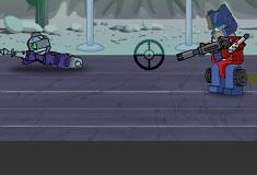 Prime vs Zombie Lego