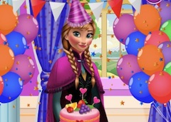 Princess Anna Birthday Party