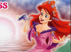 Princess Ariel Mermaid 6 Diff