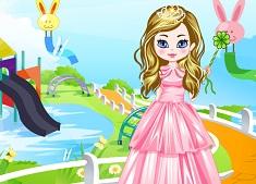 Princess at Water Park