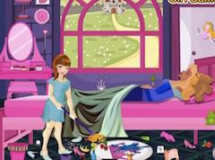 Princess Aurora Room CLeaning