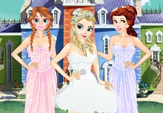 Princess Ball Dress Up