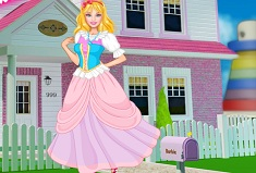 Princess Barbie House Makeover