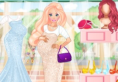 Princess Barbie Mommy to Be