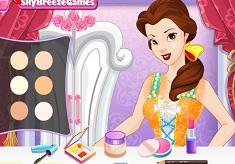 Princess Belle Makeup