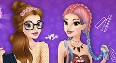 Princess Belle Shy vs Daring