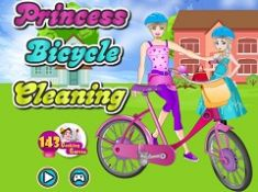 Princess Bicycle Cleaning