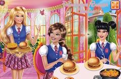 Princess Burger Cooking