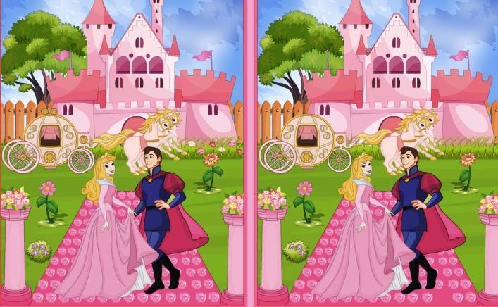 Princess Castle 10 Differences