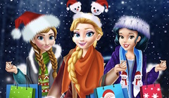 Princess Christmas Mall Shopping