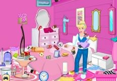 Princess Cinderella Bedroom Cleaning