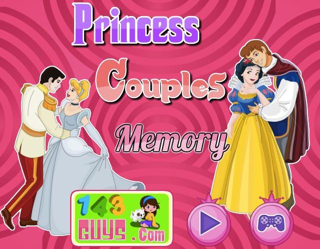 Princess Couples Memory