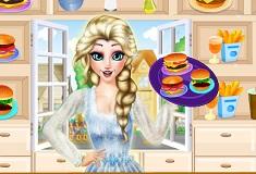 Princess Elsa Burger Shop