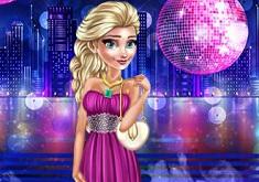 Princess Elsa in the Club