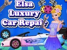 Princess Elsa Luxury Car Repair