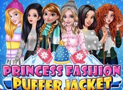 Princess Fashion Puffer Jacket
