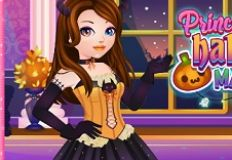 Princess Halloween Makeover
