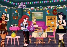 Princess Halloween Party Room Decor