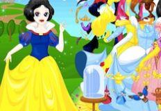 Princess in Fairy Tale Dress