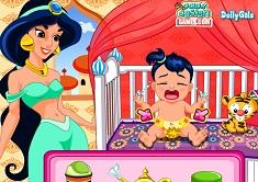 Princess Jasmine Baby Caring