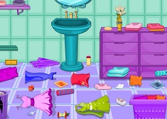 Princess Jasmine Bathroom Cleaning