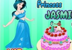 Princess Jasmine Cake
